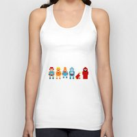 thundercats Tank Tops featuring Thundercats by Pixel Icons