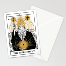 The Hierophant Stationery Cards