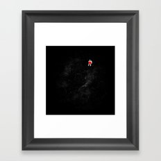 Love Space Framed Art Print