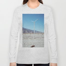 Palm Springs Windmills III Long Sleeve T-shirt