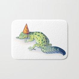 Gecko birthday Bath Mat