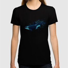 """""""Lost in Serenity"""" by Amber Marine ~ Orca / Killer Whale Art, (Copyright 2015) T-shirt"""