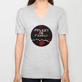 FLEET IS FAMILY Unisex V-Neck