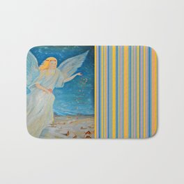 Bless me | Guardian Angels are Here | Angel of Abundance | Love Bath Mat