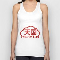 heaven Tank Tops featuring Heaven by biblebox