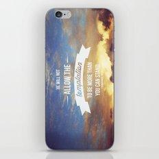 1 Corinthians 10:13 iPhone & iPod Skin