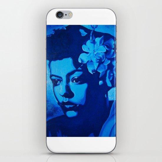Lady Billie iPhone & iPod Skin