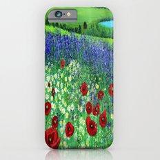 Blooming field iPhone 6s Slim Case