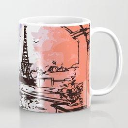 FLAG EIFFEL Pop Art Coffee Mug