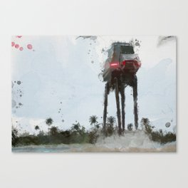 At-At Rogue One Canvas Print