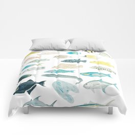 The Inhabitants of the Waters of Clipperton Atoll 1 Comforters