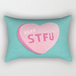 """Sweetheart"" Rectangular Pillow"