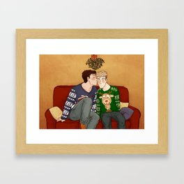 Shingeki No Christmas - Jeanmarco III Framed Art Print