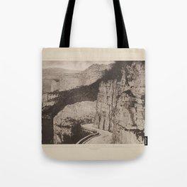 Gorges de la Loue Les Travaux Publics de la France Tote Bag