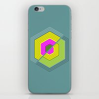 illusion iPhone & iPod Skins featuring ILLUSION by d.ts