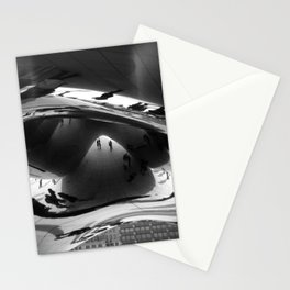 Her first day in Chicago Stationery Cards