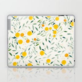 Oranges and Leaves Laptop & iPad Skin