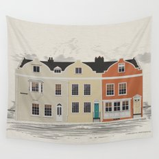 Lombard St. Portsmouth Wall Tapestry