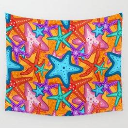 Starfish Pattern Design 2 Wall Tapestry