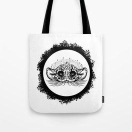 Half Cute Wild Cat Tote Bag