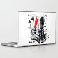 poland Laptop & iPad Skins featuring Warsaw Uprising, Poland - 1944 by viva la revolucion