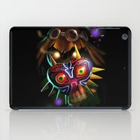 majoras mask iPad Cases featuring Majoras Mask by Max Grecke