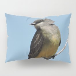 A Cassin's Kingbird Scopes the Skies for Flies Pillow Sham