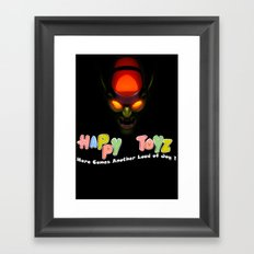 Happy Toyz (Alternate) Framed Art Print
