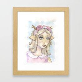 Elaine Framed Art Print