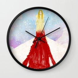 Crimson Peak Wall Clock