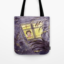 Afraid of the Dark Tote Bag