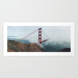 California Bridge photo Art Print