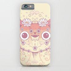 Cat flowers iPhone 6 Slim Case