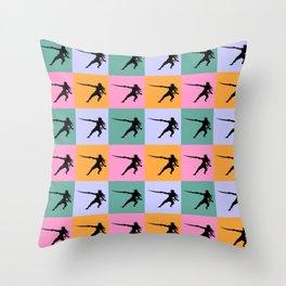 Pirate Life Vintage Throw Pillow