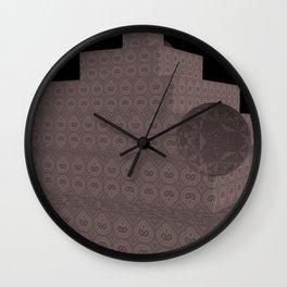 New-Nice Color Pyramide 8 Wall Clock