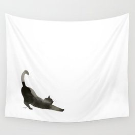 I Love Cats No.1 by Kathy Morton Stanion Wall Tapestry