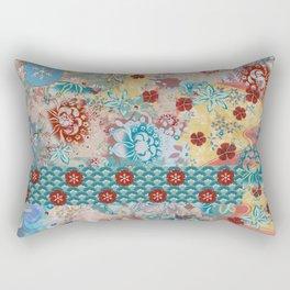 Kimono patchwork Rectangular Pillow
