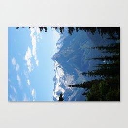 Alpine Blues Canvas Print