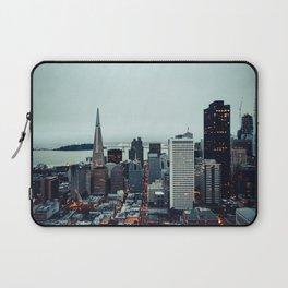 San Francisco Financial District Laptop Sleeve