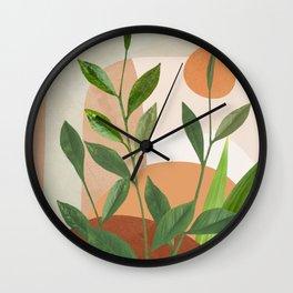 Nature Geometry XII Wall Clock