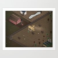 country Art Prints featuring Country by Soak
