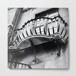 Castel Sant' Angelo | Balcony and window | Rome | Black & White Photography | Travel Photography | Photo Print | Art Print Metal Print