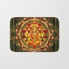 Shri Yantra- Maha Lakshmi Ashtakam- Abundance Bath Mat
