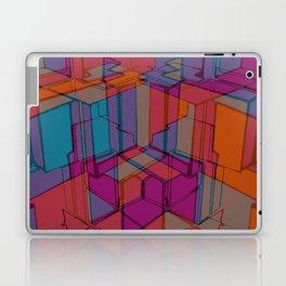 Cube Geometric I Laptop & iPad Skin