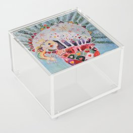 Xmas Guinea Pig Acrylic Box
