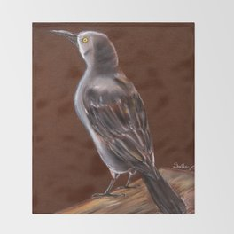 Carib Grackle Throw Blanket