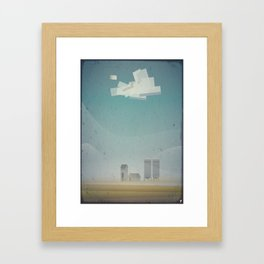 Farm times Framed Art Print
