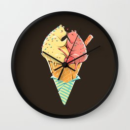 Me Melting Wall Clock