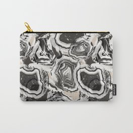 Agate marble effect pattern Carry-All Pouch