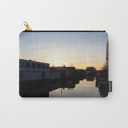 Sunset over an Amsterdam canal Carry-All Pouch